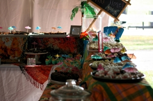 2016 Polynesian Party dessert