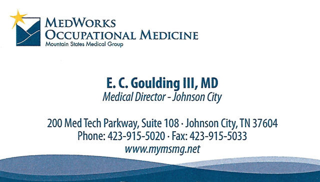 E C Goulding MD