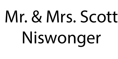 Mr. and Mrs. Scott Niswonger