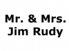 Mr. and Mrs. Jim Rudy