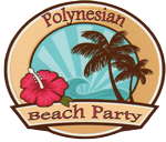 Poynesian Beach Party badge