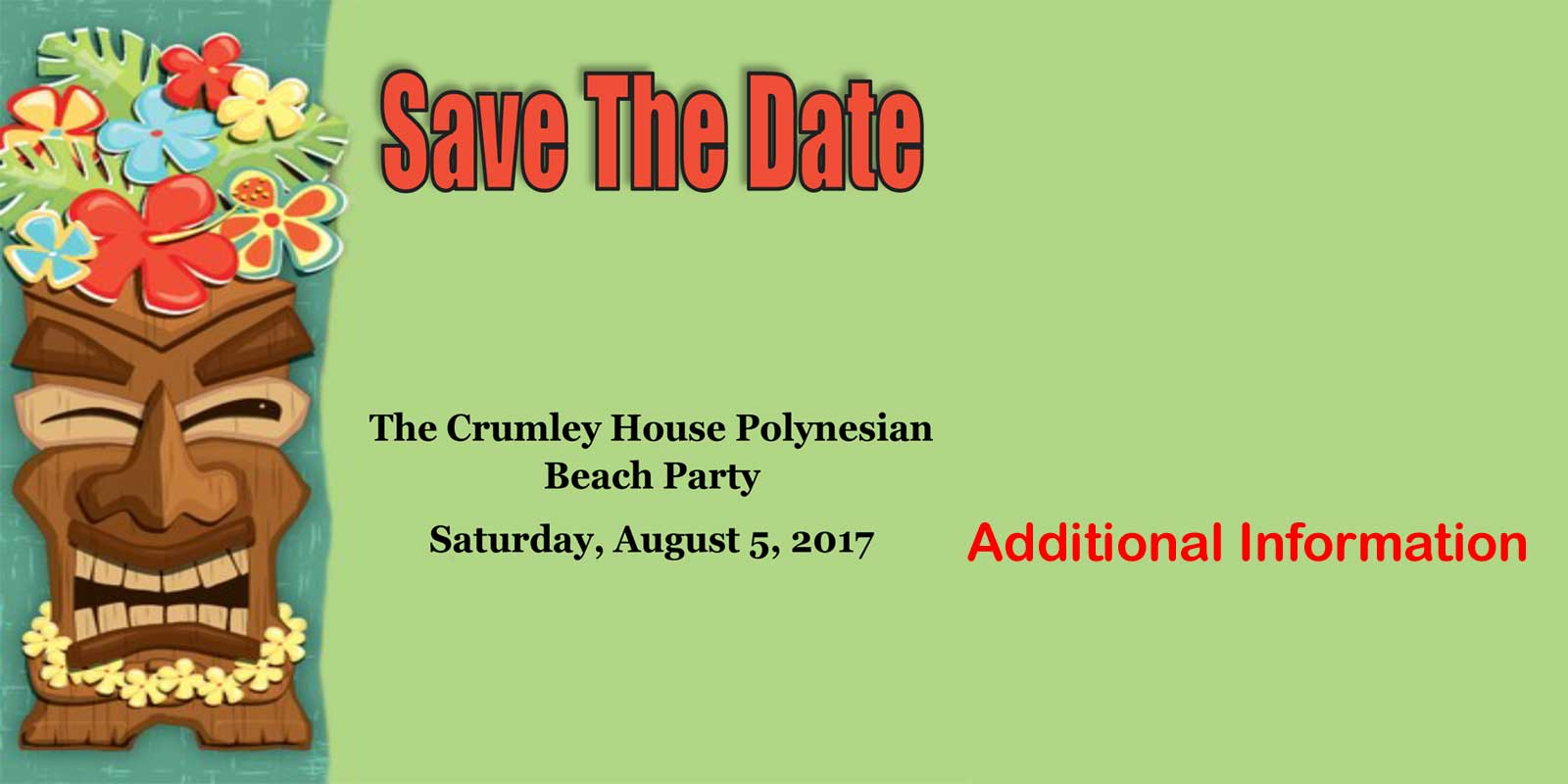 Polynesian Beach Party 2017-Save the Date