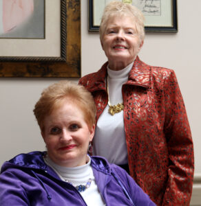 Mrs. June Barrett and daughter, Lori Beth